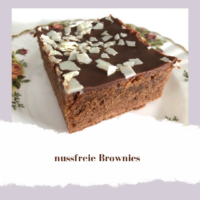 Kinderschokolade Brownies