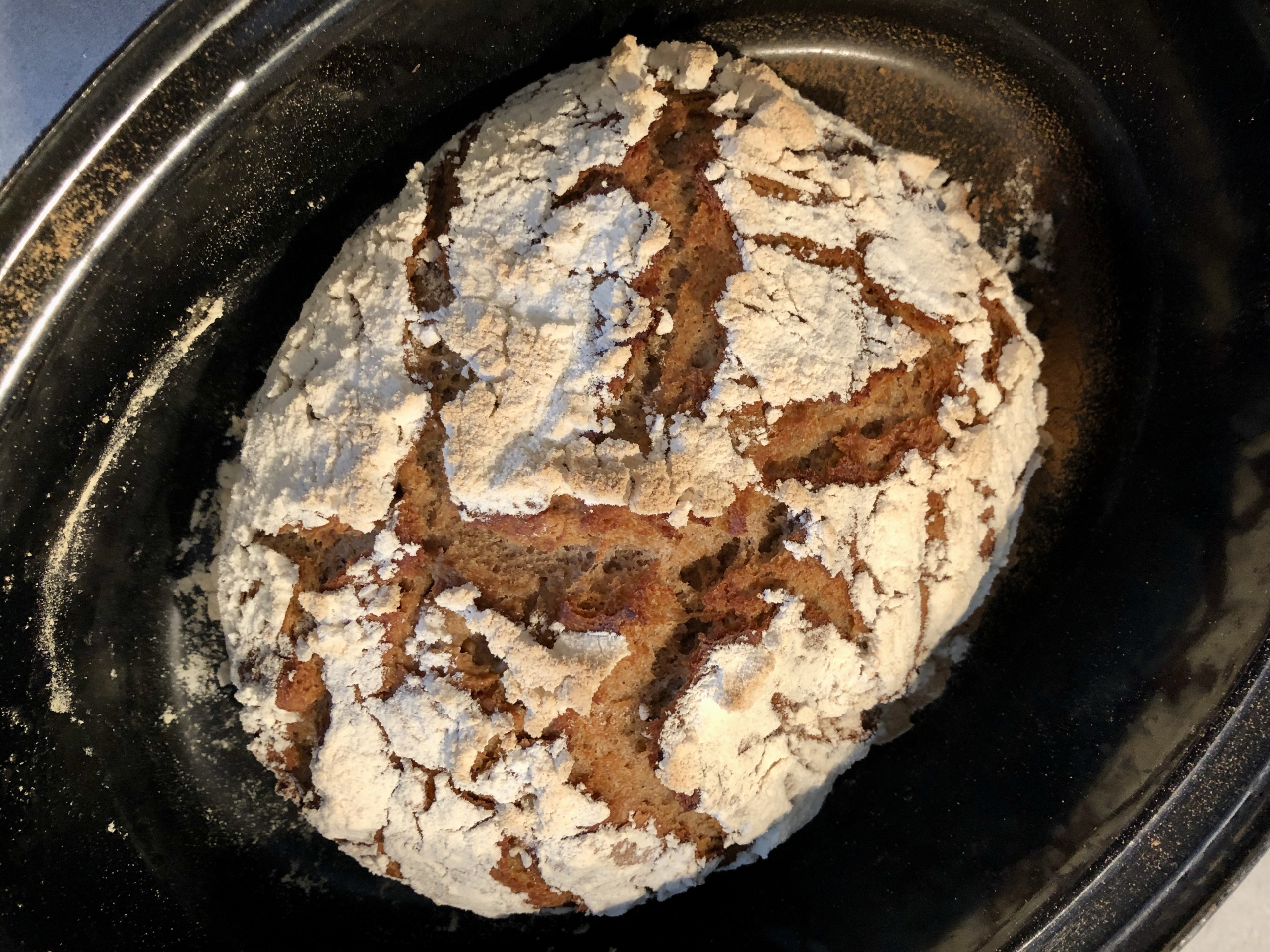 Ich backe unser Brot selber